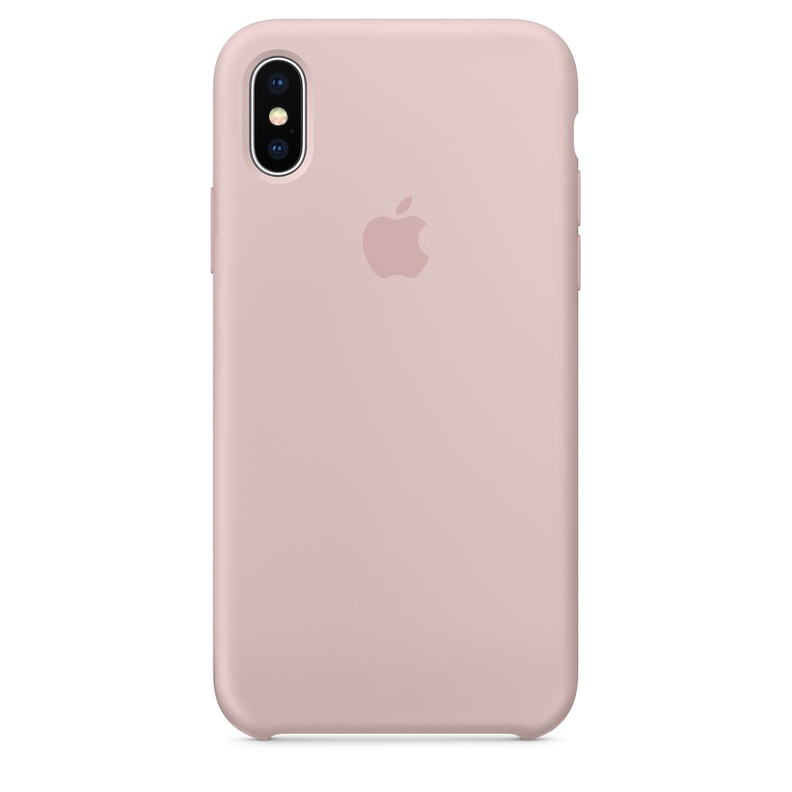 reputable site 582ec ab5df iPhone X Silicone Case – Pink Sand (high copy)
