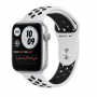 Apple Watch Nike SE GPS 40mm Silver Aluminum Case with Pure Platinum:Black Nike Sport Band (MYYD2)
