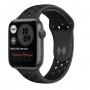 Apple Watch Nike SE GPS 44mm Space Gray Aluminum Case with Anthracite:Black Nike Sport Band (MYYK2)
