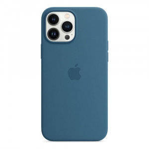 Apple iPhone 13 Pro Max Silicone Case with MagSafe - Blue Jay (MM2Q3)